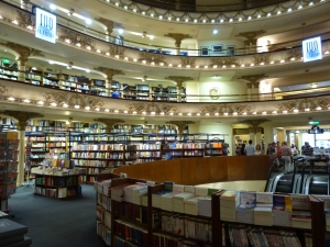 Once a movie theatre, now a bookshop