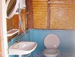 Gims bathroom in blue