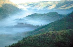 Mae Hong View with fog