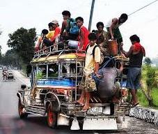 manila overcrowded jeepney