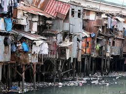 Manila slum homes