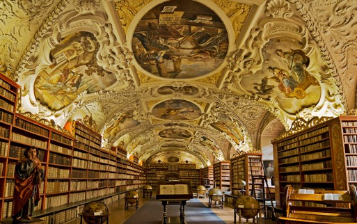 Prague Monastary library
