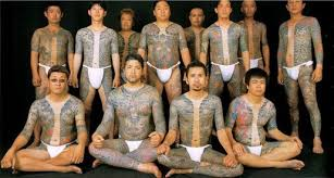 yakuza body art
