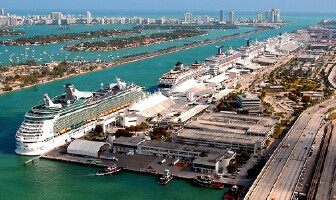 Port Of Miami Ship Tracker Tracking Map Live View Live Ship - Cruise ship web cams