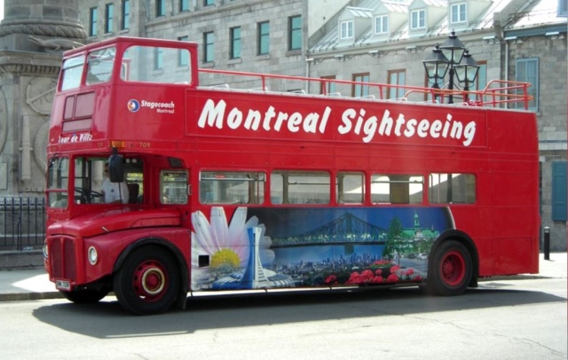Montreal bus